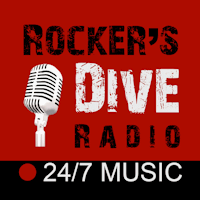 Rocker's Dive Radio Logo